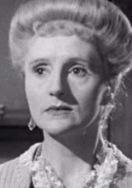Joyce Carey as Myrtle in Brief Encounter, 1945
