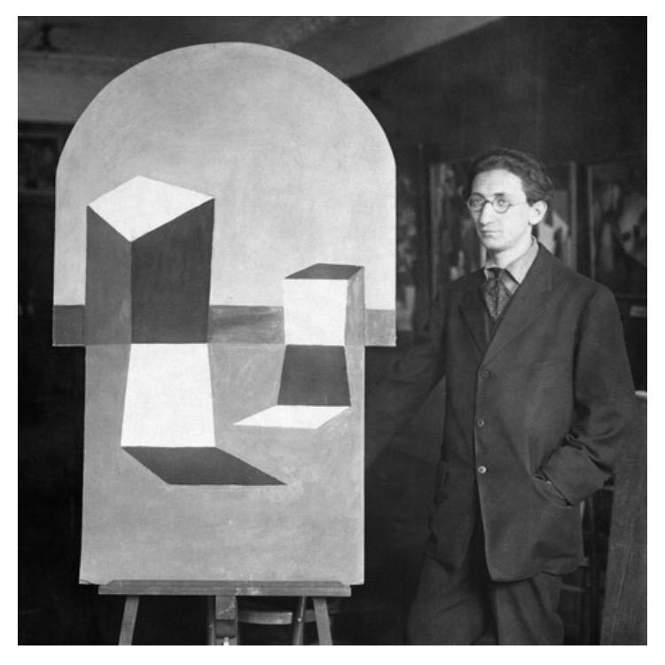 Peter Peri, Der Sturm gallery, Berlin, c.1921