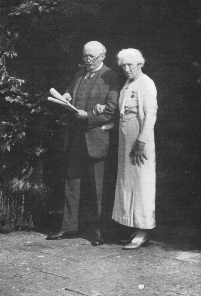 Sir Edwin Lutyens and Lady Horner
