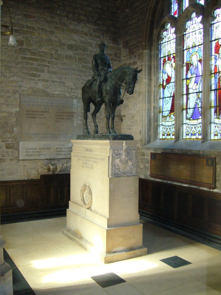 Memorial to Edward Horner, with base by Sir Edwin Lutyens