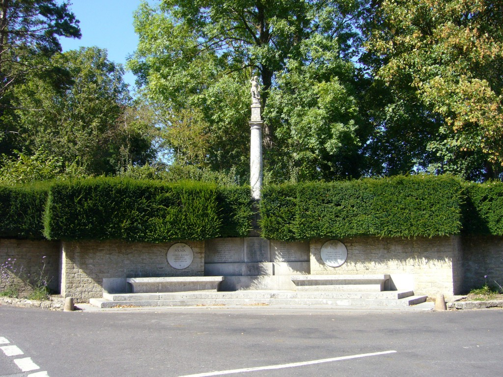 Mells War Memorial (photography by Tom Oates)