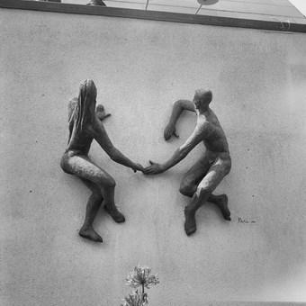 Sunbathers, Festival of Britain, 1951