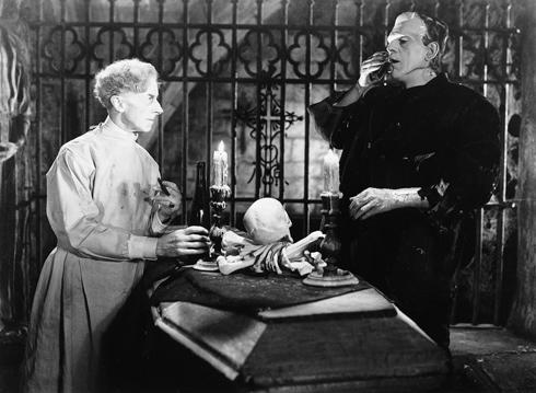 Ernest Thesiger in Bride of Frankenstein