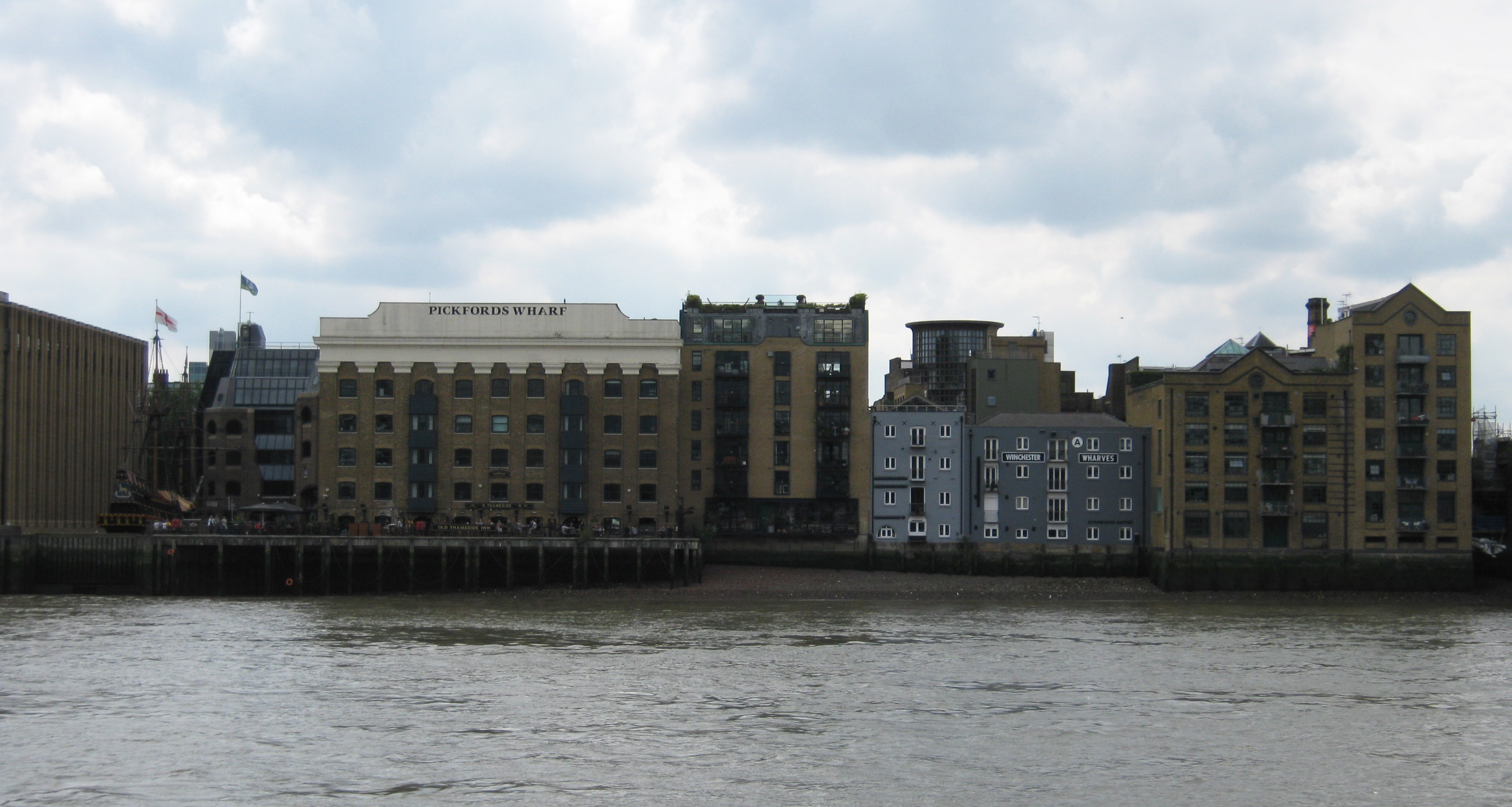Horseshoe Wharf from riverside