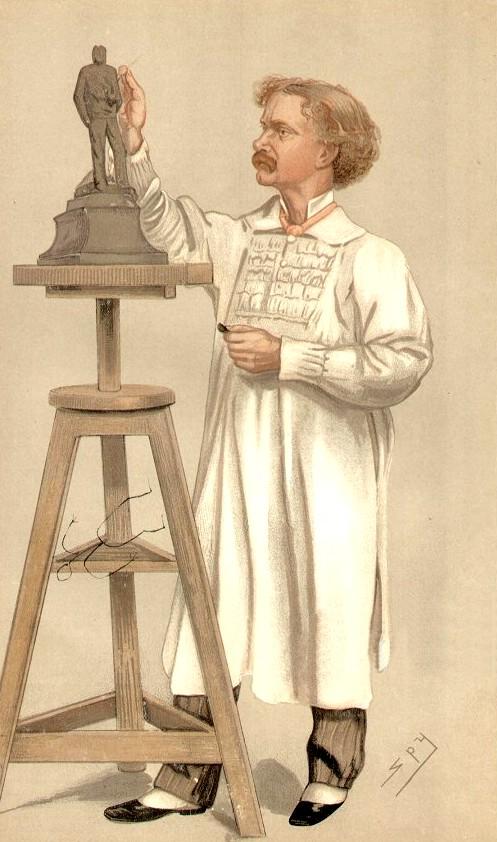 Hamo Thornycroft, 1892