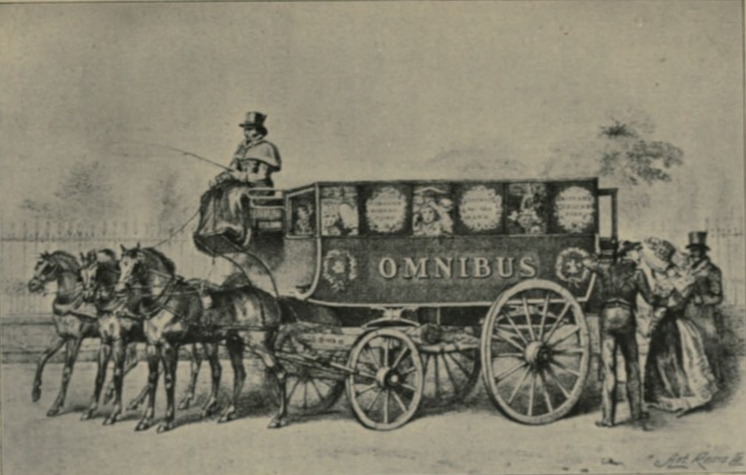 George Shillibeer's first omnibus 1829
